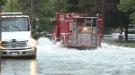 CTV Windsor:Flooding in Windsor-Essex