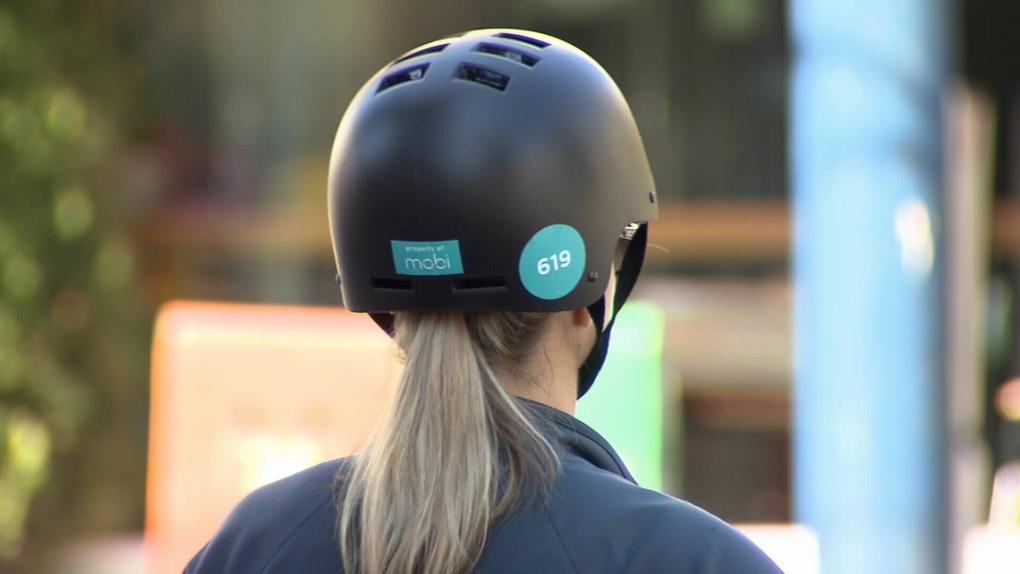 Mobi bike helmet