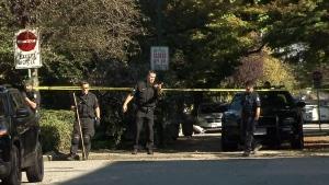 Vancouver heritage building a crime scene