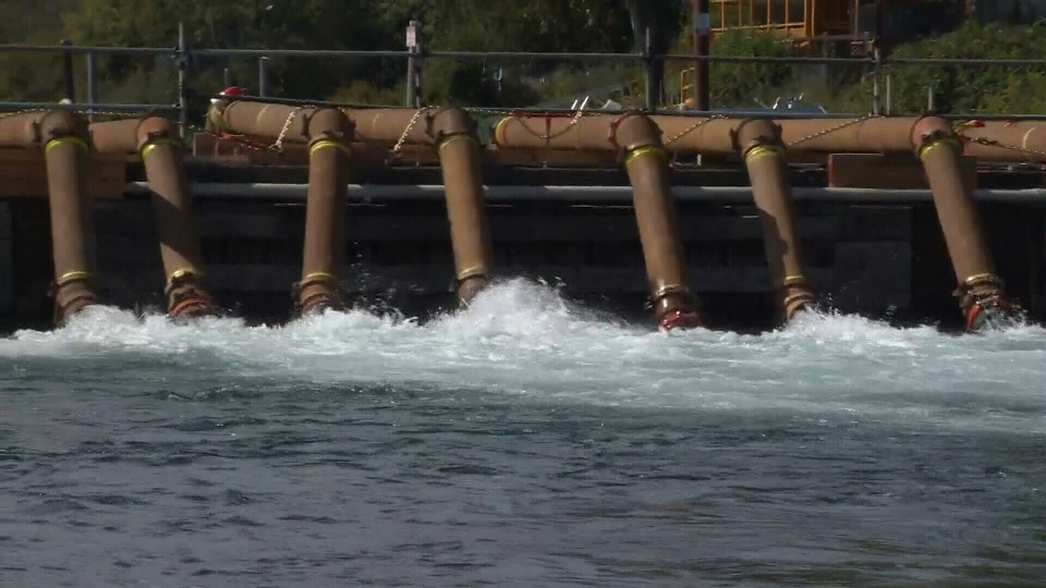 Cowichan River pumps