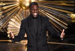 In this Feb. 28, 2016, file photo, Kevin Hart speaks at the Oscars at the Dolby Theatre in Los Angeles.(Photo by Chris Pizzello/Invision/AP, File)