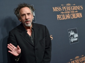 Director Tim Burton attends 'Miss Peregrine's Home for Peculiar Children' red carpet event at Saks 5th Avenue on Monday, Sept. 26, 2016, in New York. (Photo by Evan Agostini/Invision/AP)