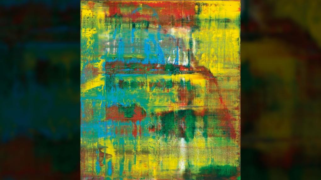 Gerhard Richter Painting Stream