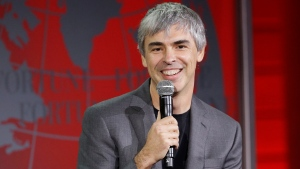 In this Nov. 2, 2015, file photo, Alphabet CEO Larry Page speaks at the Fortune Global Forum in San Francisco. (AP Photo / Jeff Chiu, File)