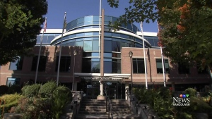 The Vancouver School Board offices are shown in a file photo.