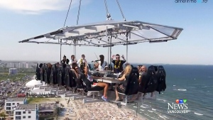 'Dinner in the Sky' proposed for Vancouver