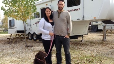 Canadian couple ditches 9-5