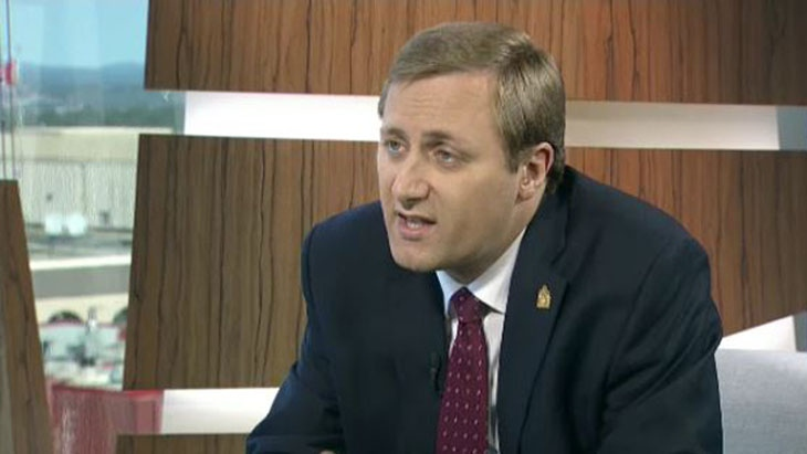 Trost wants Conservatives to return to the definition of marriage between a man and woman, something that was removed from the party's platform at its convention in May.