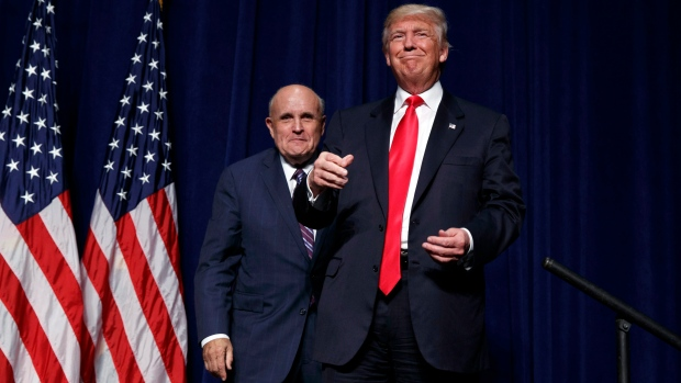 Rudy Giuliani resigns from his law firm