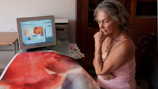 """Barbara McClatchie Andrews is seen in this undated handout photo. Barbara McClatchie Andrews, a 74-year-old Canadian photographer who """"saw beauty in everything"""" was killed in Merida, Mexico, officials and a business associate said Saturday. (THE CANADIAN PRESS/HO, Art Works Gallery)"""