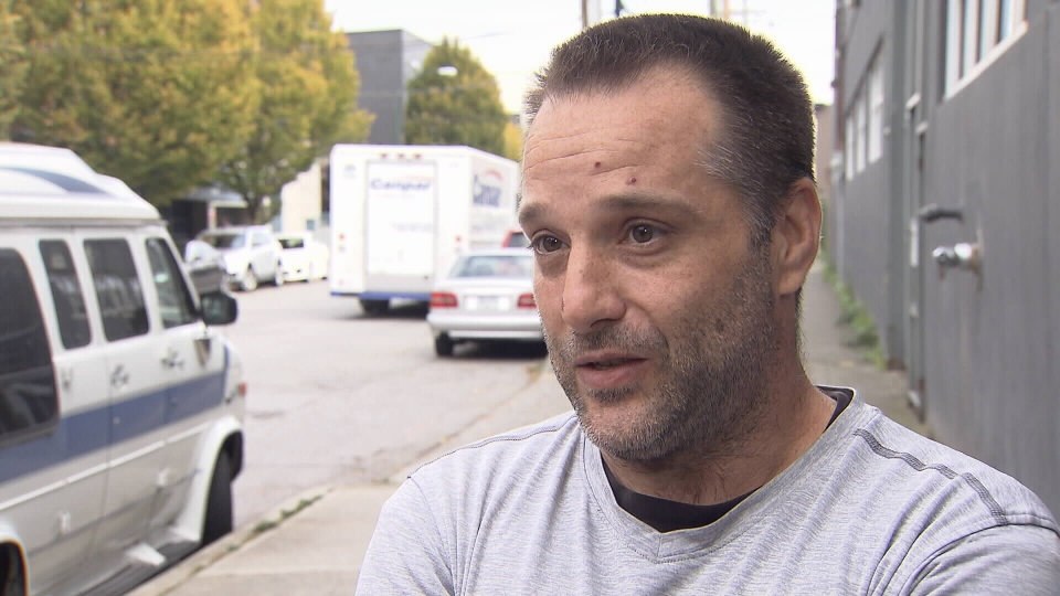 Surrey resident Darrell Berekoff was misidentified as the target of a Creep Catchers sting after the vigilante group shared his photo. Oct. 3, 2016. (CTV)