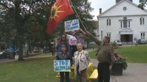 Alton Gas protest