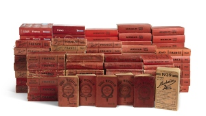 Michelin Guides from 1900 to 2016