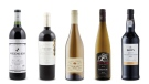 Red Mountain 2012, Echeverria Limited Edition Cabernet Sauvignon 2010, Château Dereszla Tokaji Muscat 2015, Coffin Ridge Bone Dry Riesling 2015, Dow's Late Bottled Vintage Port 2011