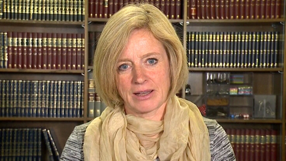 Alberta Premier Rachel Notley speaks to Don Martin on CTV's Power Play on Tuesday, Oct. 4, 2016.