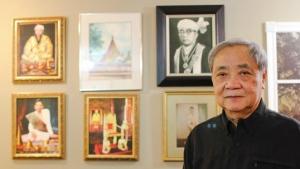 Hso Khan Pha aka Tiger Yawnghwe in his home in Alberta in 2014. (Daniel Otis)