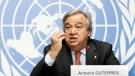 Antonio Guterres at the United Nations in Geneva, Switzerland, on Dec. 18, 2015. (Salvatore Di Nolfi / Keystone via AP)