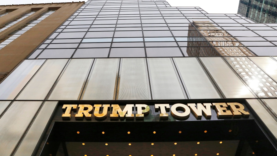 In this March 16, 2016 file photo, Trump Tower is seen in New York. (Mark Lennihan, File/AP Photo)