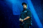 In this July 9, 2016 file photo, Ice Cube performs at the 2016 Festival d'ete de Quebec in downtown Quebec City, in Canada. (Photo by Amy Harris/Invision/AP, File)
