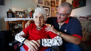 Daniel Nemis was wrongly told his mother Sophie Nemis, 99, was dead after a hospital visit in September. (John Woods/The Canadian Press)
