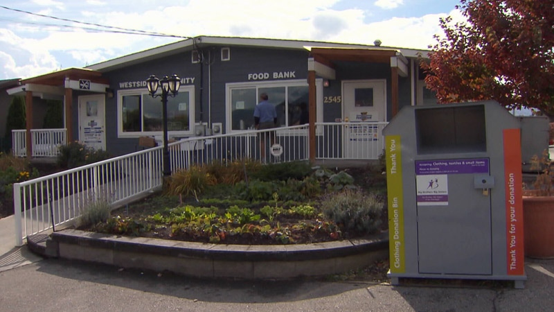 The Westside branch of the Central Okanagan Food Bank, formerly known as the Westside Community Food Bank, received an anonymous donation of $190,000.