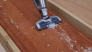 Consumer Reports put a variety of stick vacuum cleaners to the test to see which ones were able to pick up sand, as well as a mixture of rice and cereal.