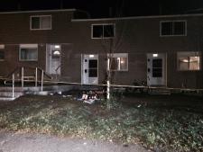 Stabbing death on Rosenthal Ave.