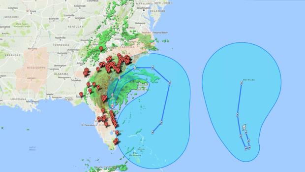 Worksheet. Hurricane Matthew Tracking the crisis and impact through maps