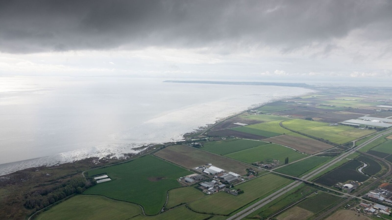 Boundary Bay between Surrey and Delta is seen in this file photo. (CTV)