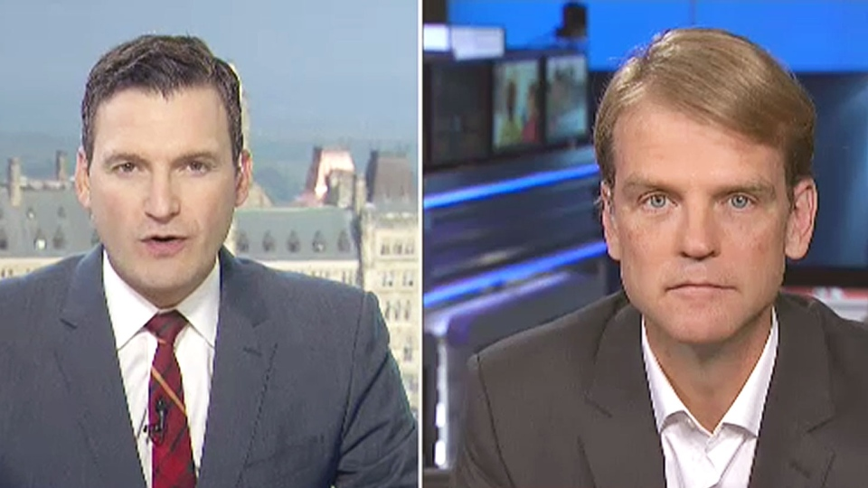 Former Conservative cabinet minister Chris Alexander, in an interview with CTV's Evan Solomon, says the party's pitch for a 'barbaric cultural practices' tipline in the last election helped lead to its defeat.