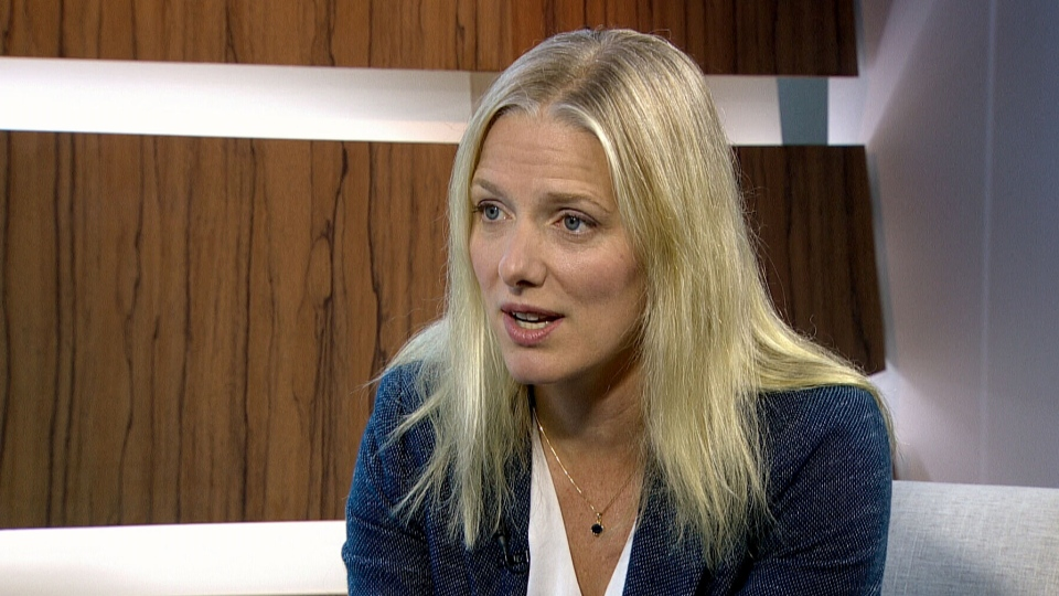 Environment Minister Catherine McKenna appears on CTV's Question Period on Sunday, Oct. 9, 2016.