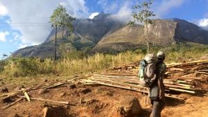 Mario Rigby walking across Africa