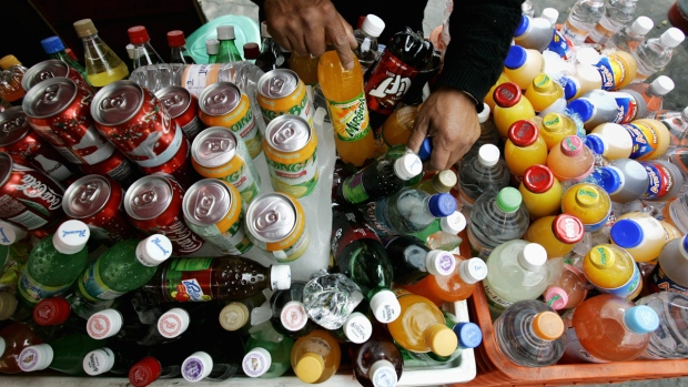 Selling soft drinks in Mexico City