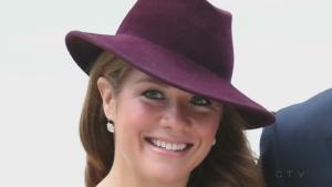 Sophie Gregoire-Trudeau rings bell