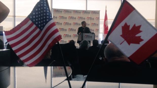 Canada's Ambassador to the U.S. David MacNaughton