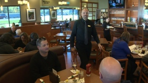Inside a White Spot restaurant on Vancouver Island in 2015. (CTV Vancouver Island)