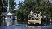 Flooding after Hurricane Matthew