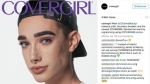 CoverGirl welcomes James Charles as brand ambassador. (Covergirl / Instagram)
