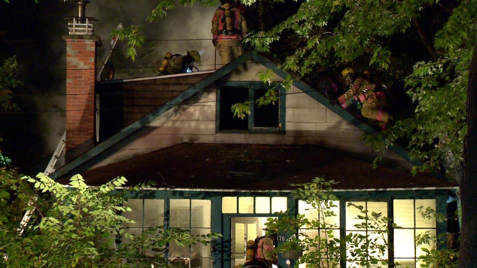Fire Damages Home In Pointe Claire Ctv Montreal News