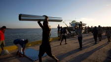 Aid ship arrives in Haiti after Hurricane Matthew