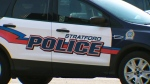A Stratford Police cruiser is pictured on Wednesday, Oct. 12, 2016.
