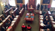 Nova Scotia throne speech