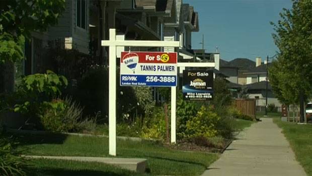 House prices in Calgary are down, says a Royal LePage report, but not as much as many had thought.