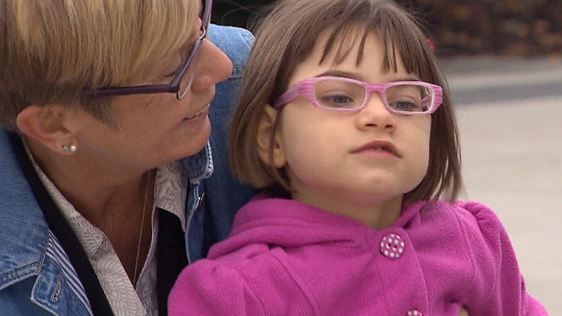 Kyla Williams, a four-year-old living in Summerland, B.C., has intractable epilepsy.