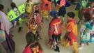 Mistawasis students showcase dancing and drumming