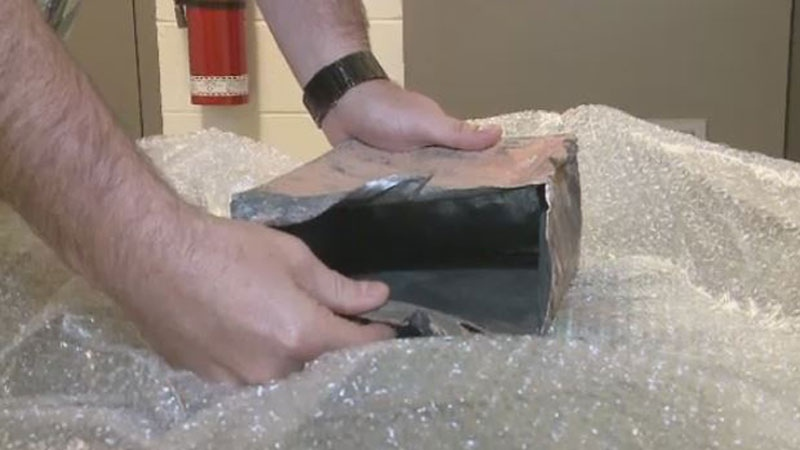 The restoration of a heritage building in Moncton has uncovered two time capsules, both dating back more than 100 years.