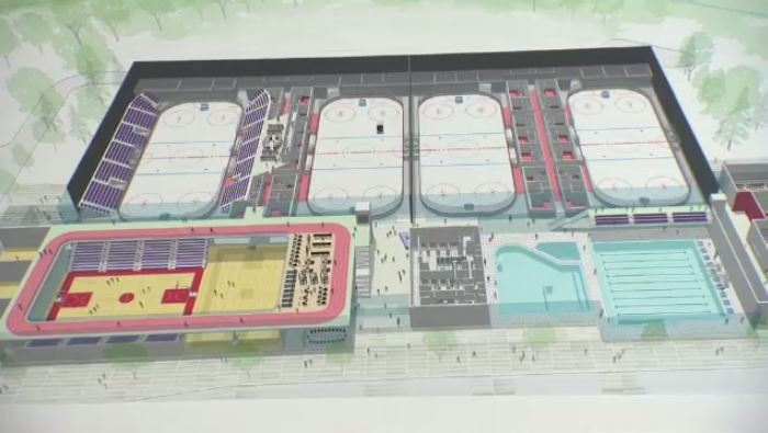 A rendering of the proposed Cambridge multiplex. (CTV Kitchener)