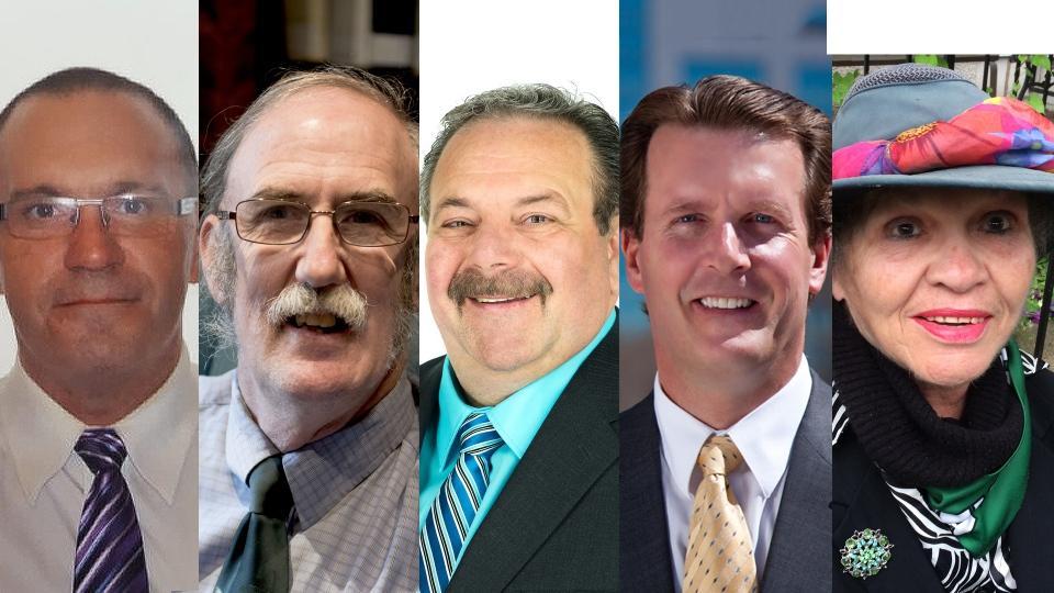 Regina mayoral candidates.