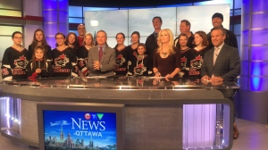 Congratulations to Nepean Wildcats Peewee Girls on becoming Myers Auto Group Team of the Week and winning $1,000.00!
