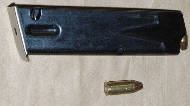 An image of ammunition allegedly recovered from a loaded firearm in an assault investigation. (Toronto police handout)